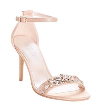 Jeweled Strappy Heels