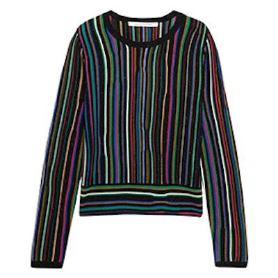 Arisha Striped Knitted Sweater