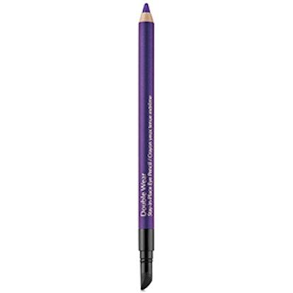 Double Wear Stay-in-Place Eye Pencil in Night Violet