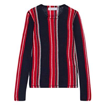 Lucan Striped Cashmere Sweater