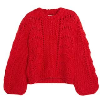 Julliard Mohair And Wool-Blend Sweater