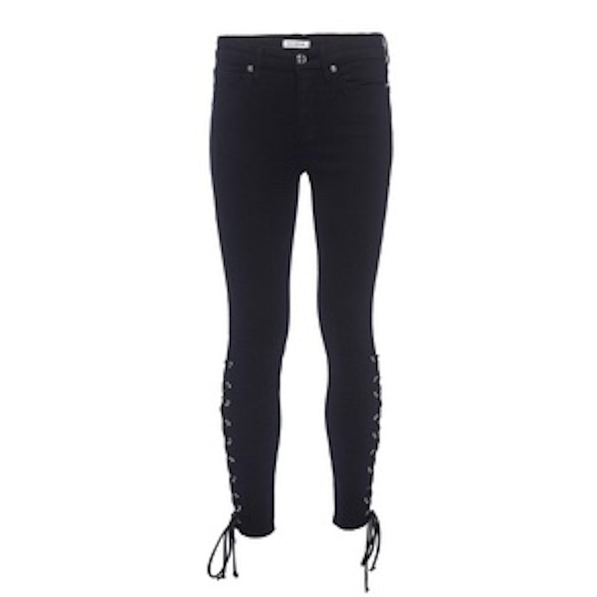 Good Legs Crop Lace Up