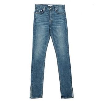 Natalia High-Rise Skinny Split Jean in Ma Belle Amie