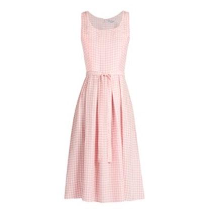 Jordan Gingham Sleeveless Dress