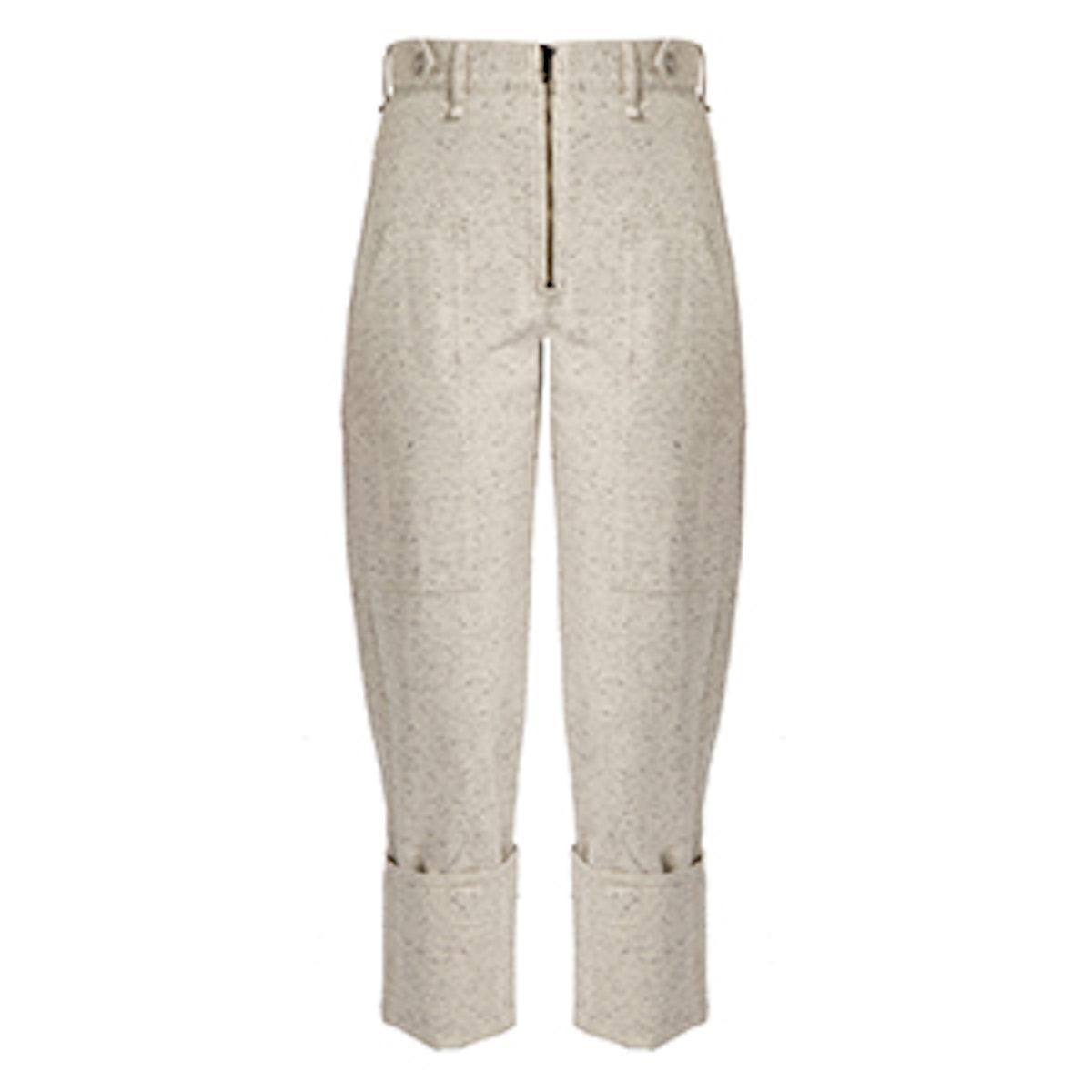 Eugenie High-Rise Peg-Leg Denim Trousers