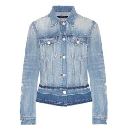 Deena Distressed Denim Jacket