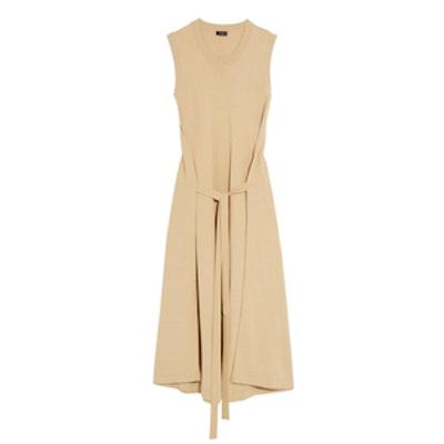 April Tie-Front Cotton Dress