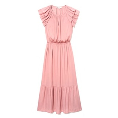 Blush Flutter Dress