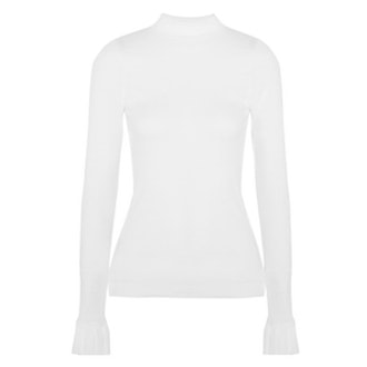 The Composed Ribbed-Knit Sweater