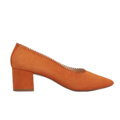 Heel Leather Shoes
