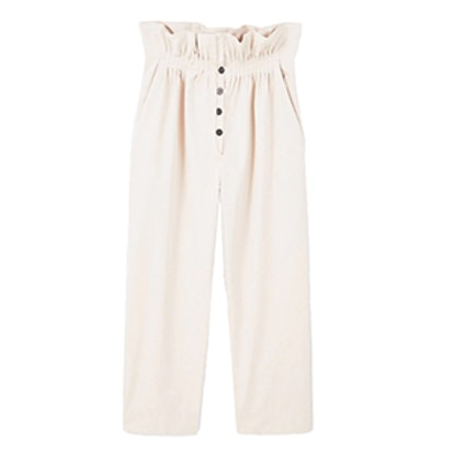 Ruched Waist Trousers