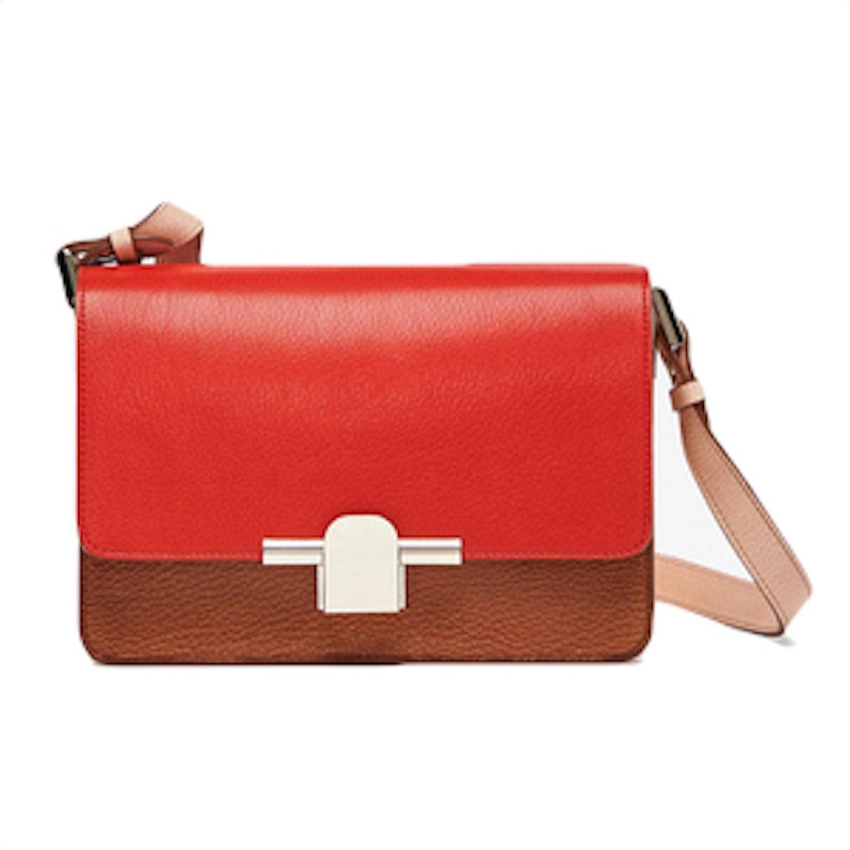 Tricolor Crossbody Bag