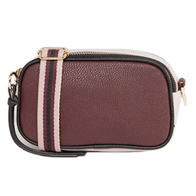 Color Block Strap Camera Bag