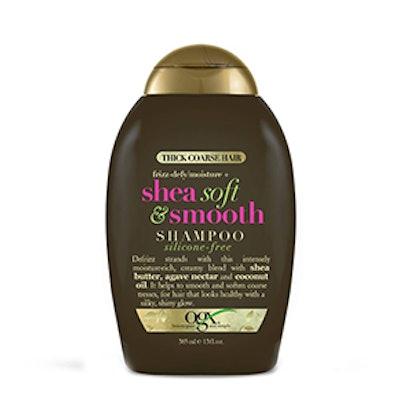 OGX Thick Coarse Hair Frizz-Defy/Moisture + Shea Soft & Smooth Shampoo