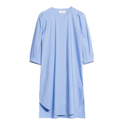 Cotton Blouse Dress