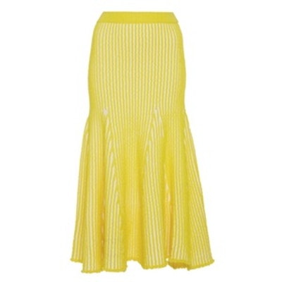Sally Stitched Flare Skirt