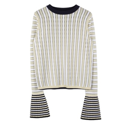 Bonnie Reversible Bell Sleeve Pullover