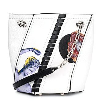 Mini Hex Bucket Bag