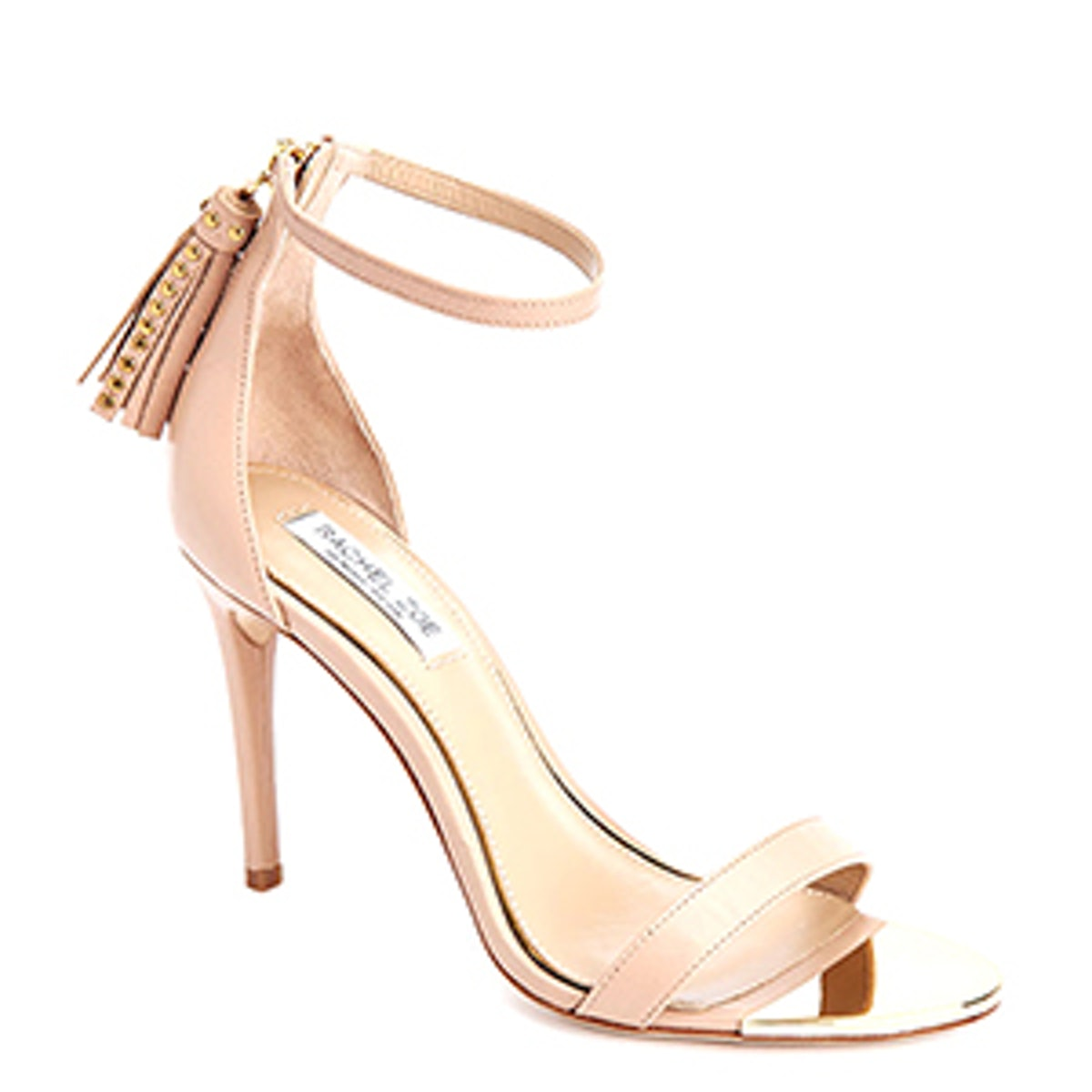 Emaly Tassel Leather Heeled Sandals