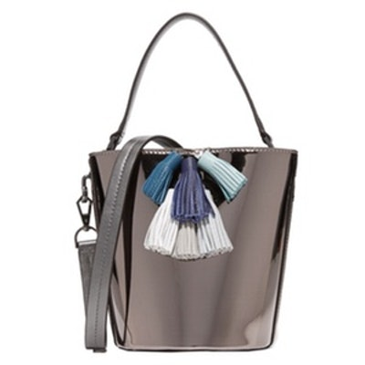 Sofia Top Handle Bucket Bag