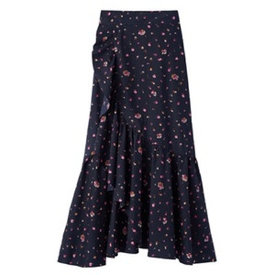 Mia Floral Wrap Skirt