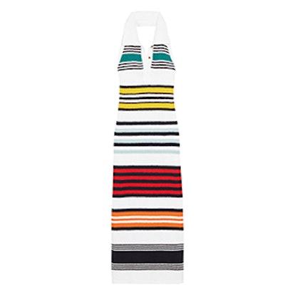 Long Colorful Striped Jersey Dress