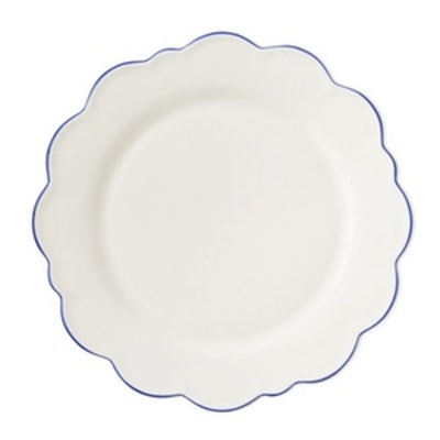 AERIN Scalloped Dinner Plates, Set of 4