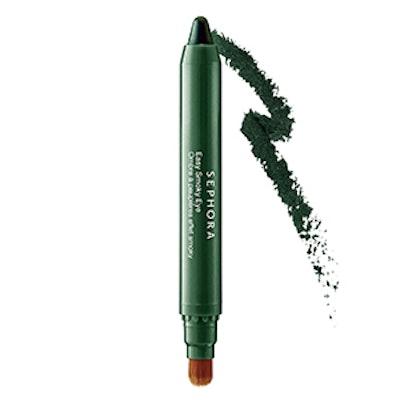 Easy Smoky Eye in Gleaming Green