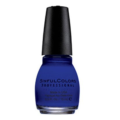 Professional Nail Color in Endless Blue