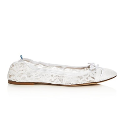 Gelsey Lace Ballet Flats