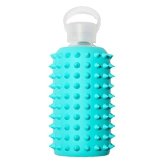 Spiked Silicone Glass Water Bottle