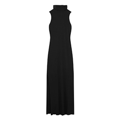 Luxe Stretch Micro Modal And Cashmere-Blend Maxi Dress