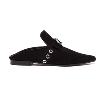 Lopal Suede Backless Loafers