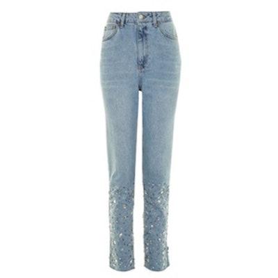 Gemstone Mom Jeans