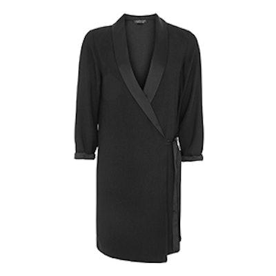 Tie Side Blazer Dress