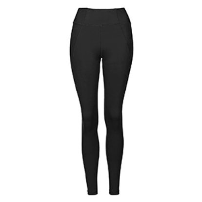 """Y"" High-Rise Ankle Leggings"
