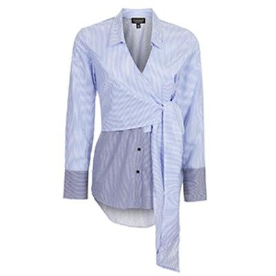 Tie Wrap Poplin Shirt