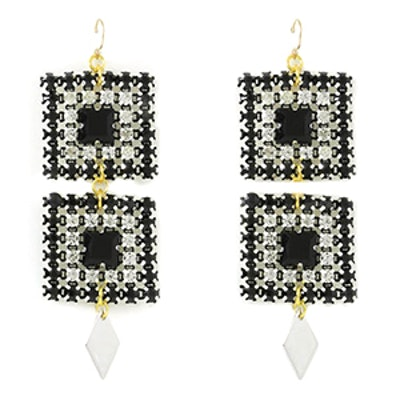 The Ace Of Spades Earrings