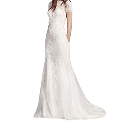 Limited Edition Short Sleeve Wedding Dress