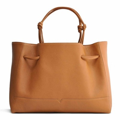 The Tote In Caramel