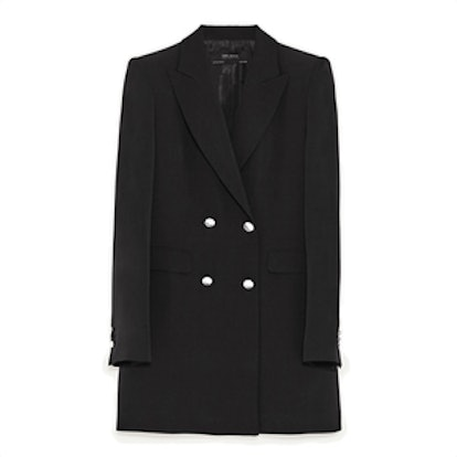 Double-Breasted Jacket With Button Fastening
