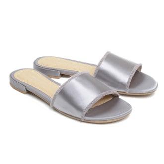 Women's Pattie Satin Slide Sandal