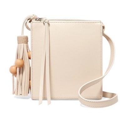 Sara Tasseled Leather Shoulder Bag