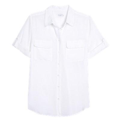 Women's Short Sleeve Slim Signature Shirt