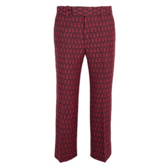 Woven Wool Flared Pants