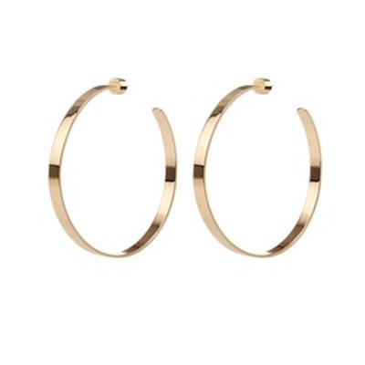 Kate Hoops in Gold