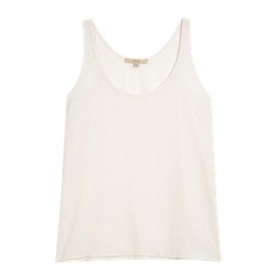 Women's Sleeveless Woven Shell Top