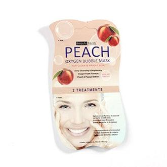 Peach Oxygen Face Mask