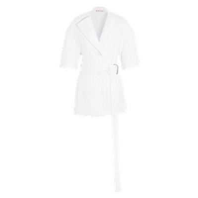 Belted Cotton Jacket
