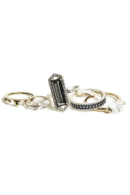 Janis Midi Ring Set